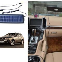 Solárna nabíjačka 3W pre udržovacie dobíjaníe baterií + dobíjanie mobilných telefónov