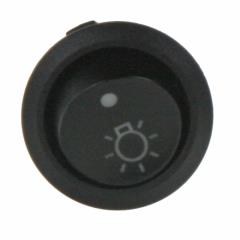 Spínač kolébkový kulatý 20A na světla vnitřní