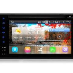 2DIN autorádio s 6,2%22 LCD, Android 4.4.4, WI-FI, DVD, USB, GPS, bluetooth