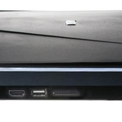 Stropní LCD monitor 17,3%22 USB/SD/HDMI černý neotočný