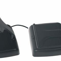 Výklopný monitor 4,3%22 černý na palubní desku