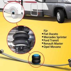 Prídavné pneumatické pružiny - 2-kruhová základňa Fiat Ducato250 / Boxer / Jumper od roku 6/06