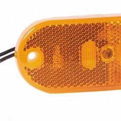 LED bočné svetlo, žltá, 12V, 0,6W