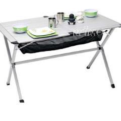 Hliníkový valcový camping stôl Titan 2