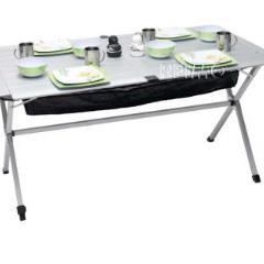 Hliníkový valcový camping stôl Titan Space 2