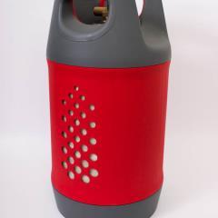 Kompozitná plniaca flaša  s ventilom na plnenie - náplň až 11kg .