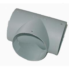 T kus Truma, 65mm sivý