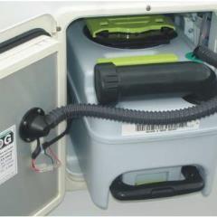 SOG odvetrávacia sada pre WC Dometic CT3000