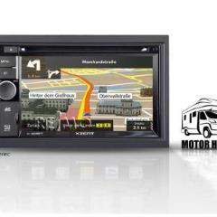 Navigačný systém pre obytné automobily
