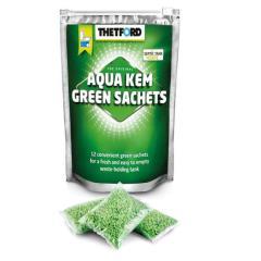Zelené vrecká Aqua Kem v zipsovom vrecku