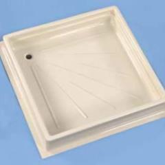 Sprchová vanička 600x600x102mm, biela
