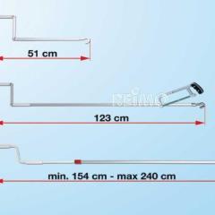 Ručná kľuka FIAMMA 15 - 240 cm