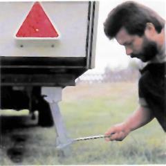 Podpera vozidla 1 pár pár 39-55 cm
